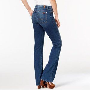 {7 FAM} Kimmie Medium Wash Bootcut Jeans